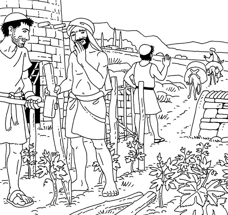De arbeiders in de wijngaard