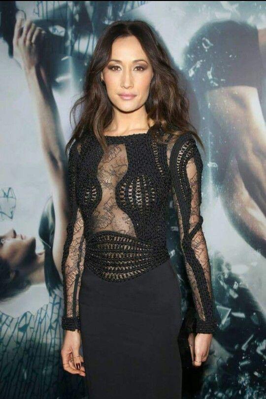 Maggie Q NYC Insurgent Premiere