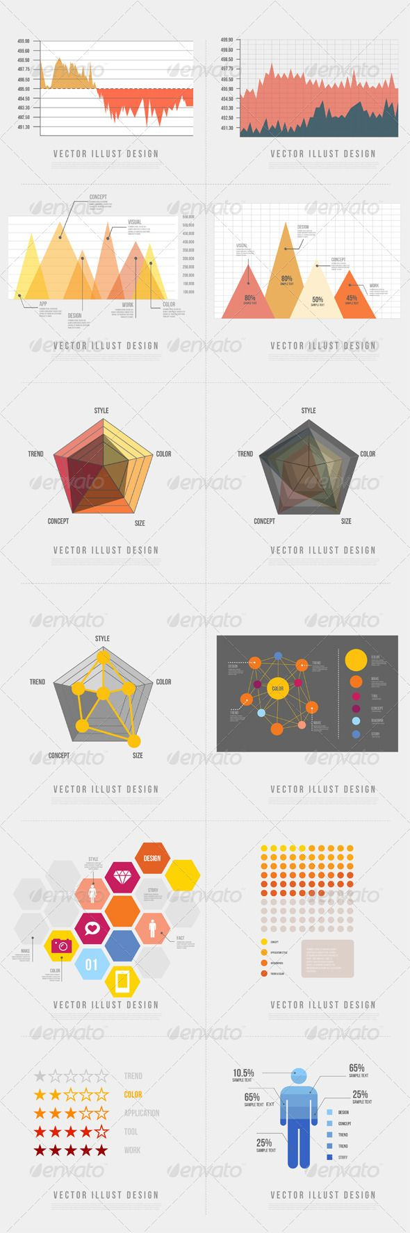Infographics Graph 08 ...  area graph, business, chart, diagram, distribute, element, event, graph, honeycomb, icon, idea, illustration, infographic, infographics, information, pentagon, pictogram, powerpoint, presentation, scatter graph, trigonometric graph