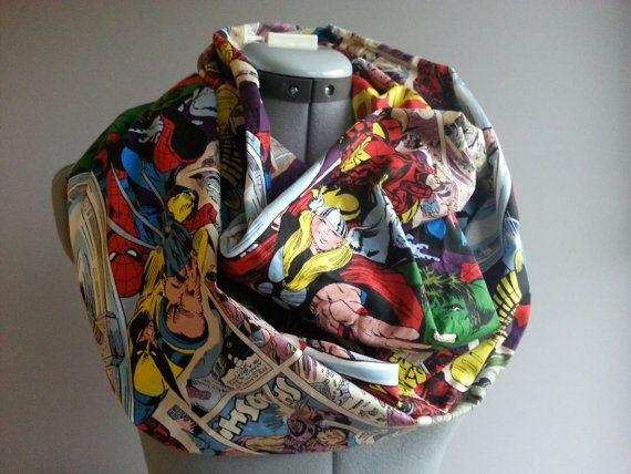 Marvel Comic Superhero Scarf