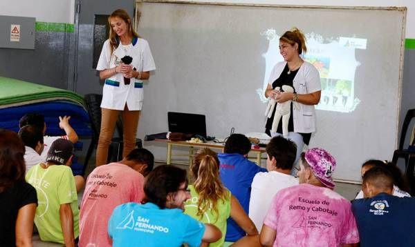 San Fernando brindó una charla de Educación Sexual a personas con discapacidad