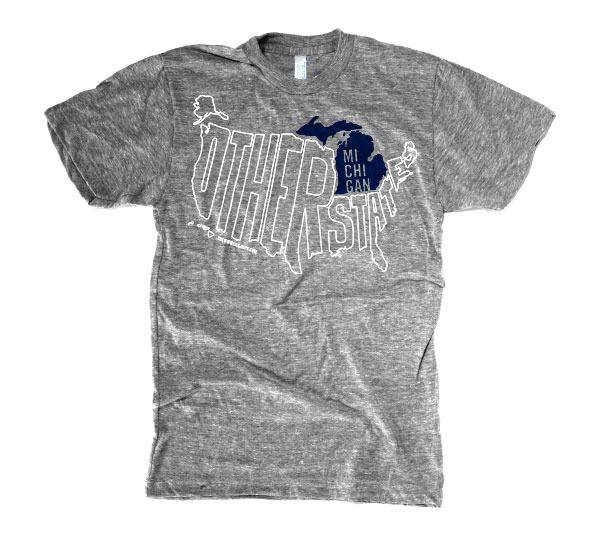 Michigan & Other States T-Shirt