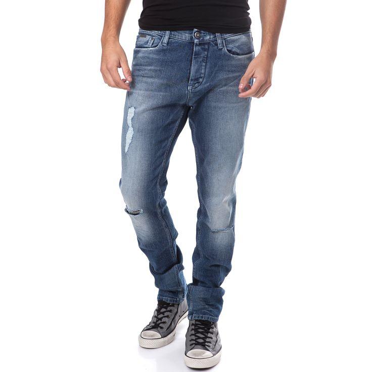 CALVIN KLEIN JEANS - Ανδρικό τζιν παντελόνι Calvin Klein Jeans μπλε | παντελονια τζιν ανδρικα προσφορες, προσφορες τζιν, τζιν CALVIN KLEIN JEANS φθηνα, τζιν παντελονια ανδρικα CALVIN KLEIN JEANS