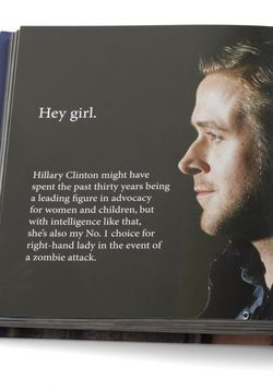 "wow, feminist ""hey girl"" ryan gosling book on modcloth, too funny!"