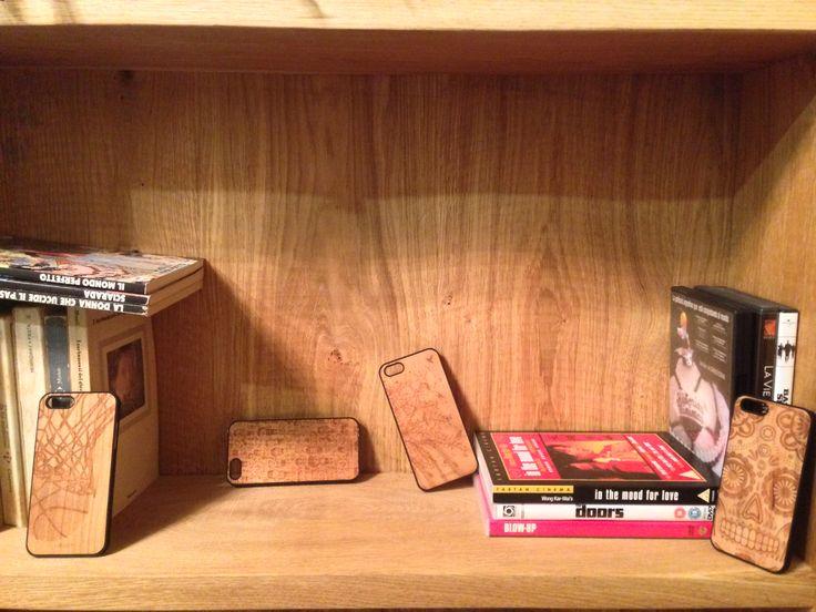 Cover iphone in legno