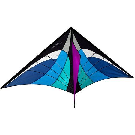 Prism Kite Technology Stowaway Delta Kite, Clear