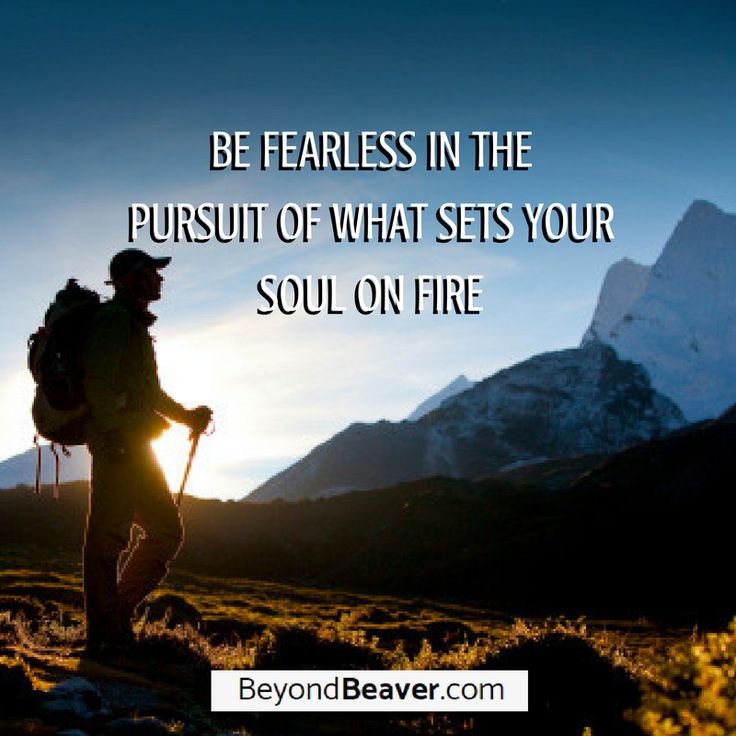 Be fearless and unstoppable in the pursuit of your goals. #dreams #motivation #success