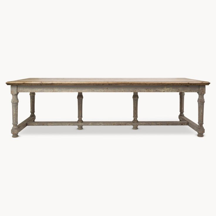Distressed Andalusia Large Dining Table http://www.la-maison-chic.co.uk/Item/Distressed-Andalusia-Large-Dining-Table