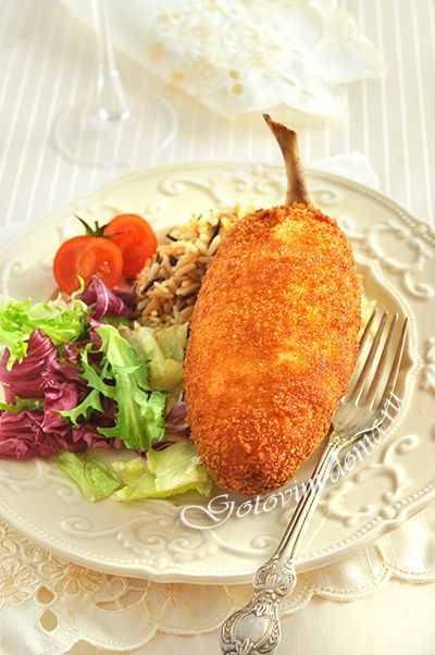 Chicken Kiev Recipe - This link to the english translation of the original post in russian