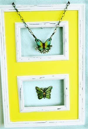 an arsty idea for jewelry lovers...: Decor Ideas, Arsti Ideas