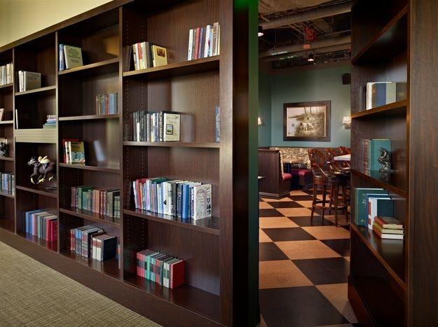 The offices of Steelhead Partners has a hidden pub: | 31 Beautiful Hidden Rooms And Secret Passages
