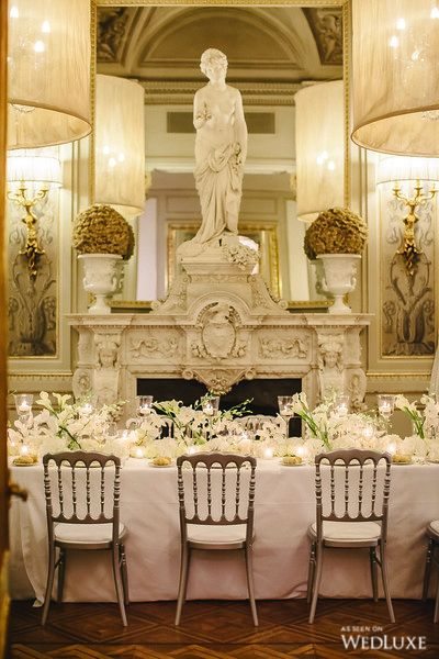WedLuxe– An Italian Destination Wedding Brimming with All-White Blooms   Photography by: Fotografo Matrimonio Toscana Follow @WedLuxe for more wedding inspiration!