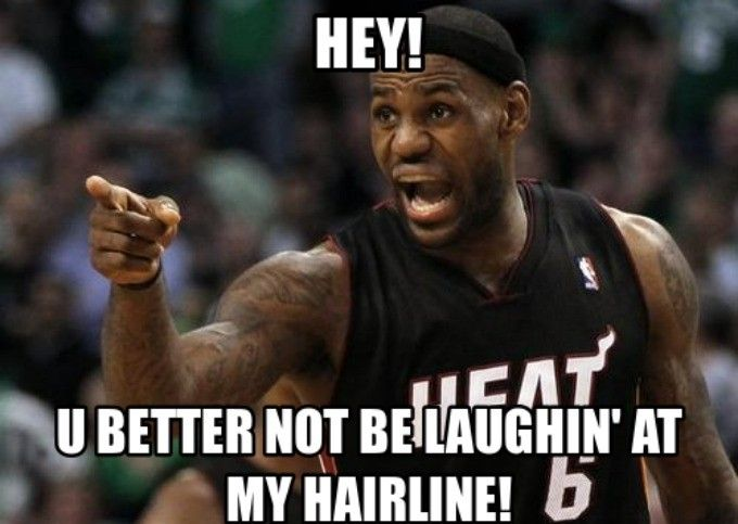 RIP: The 50 Meanest LeBron James Hairline Memes of All Time