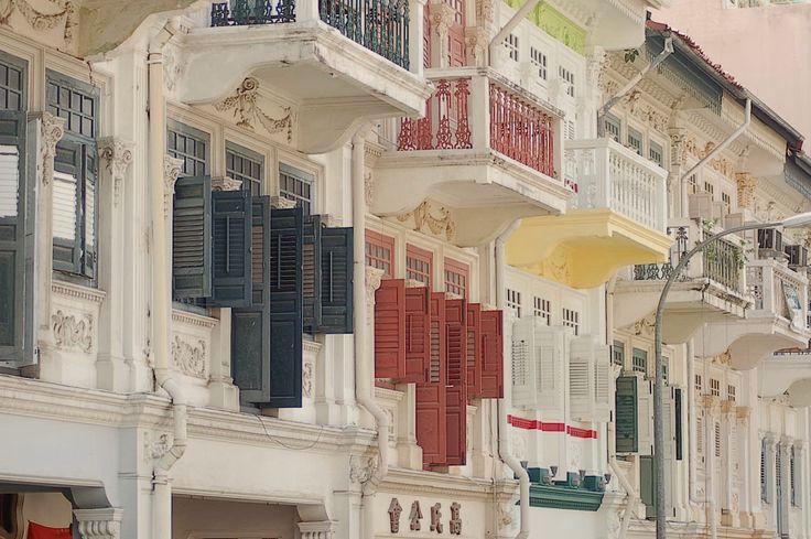 Peranakan houses of Singapore