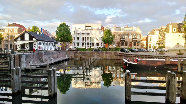 The entrance of our harbour.;the Sluiskom