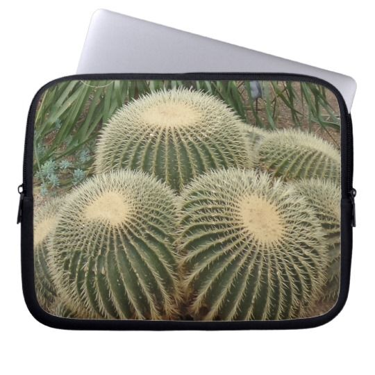 #zazzle  #Neoprene #Laptop #Sleeve #10 inch #office #home #travel #gift #giftide #Cactuses