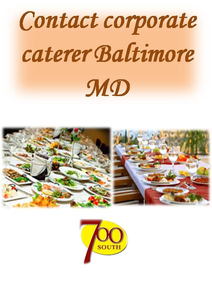 We supply different types of catering products and services in Baltimore. For any kind of catering service, Contact corporate caterer Baltimore MD now: http://700southdeli.com/