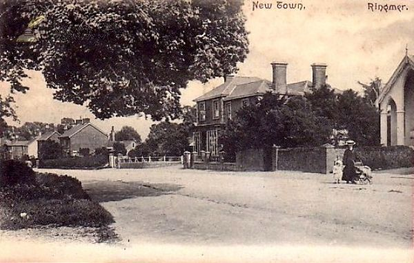 Ringmer New Town in 1908