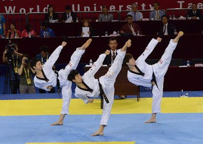 MACAM - MACAM SENI BELA DIRI: Materi Dalam Latihan Taekwondo