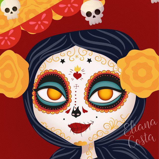 Exceptionnel Más de 25 ideas increíbles sobre Máscara de la muerte mexicana en  NM18