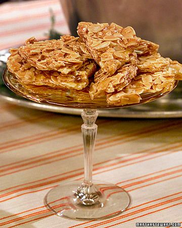 Mario's Almond Brittle - Martha Stewart Recipes