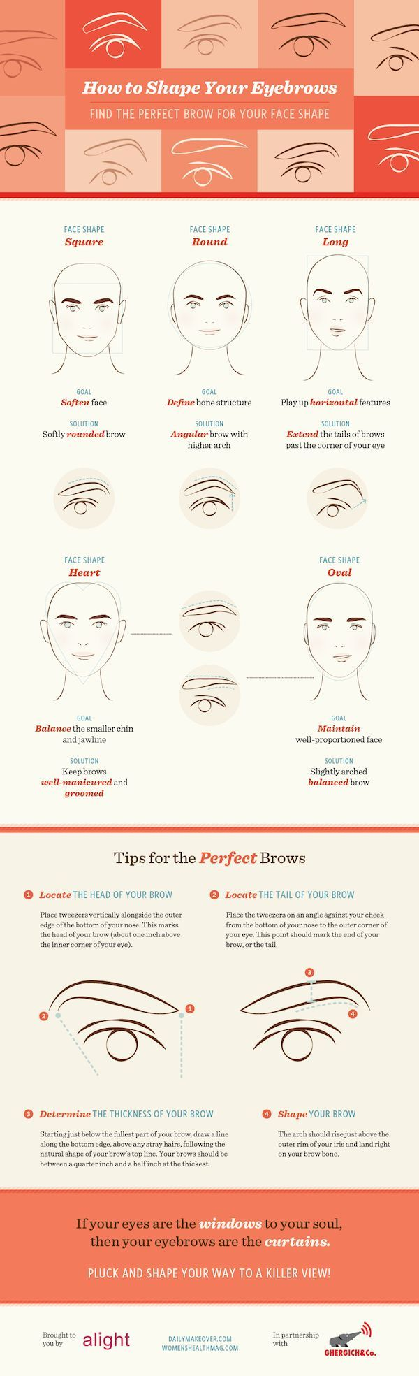 How to shape your eyebrows pinned with Pinvolve - pinvolve.co
