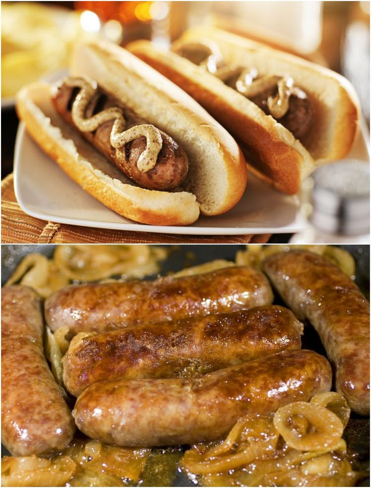 Brawts Recipe- make them on the stove. Great game day food. Bratwursts and buns.
