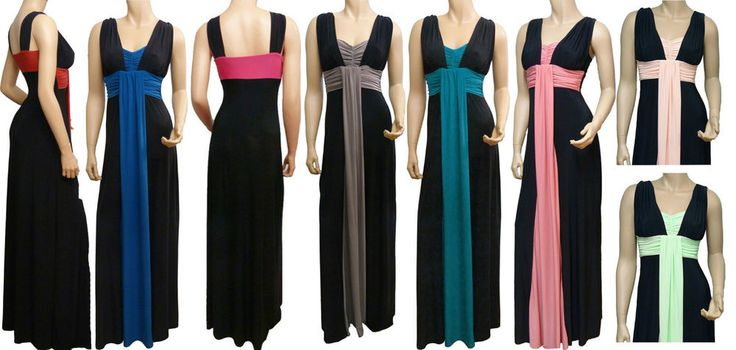Grecian Style Evening Maxi Dress UK Size 8-22 (LR1050) Available In 4 Lengths in Clothes, Shoes & Accessories, Women's Clothing, Dresses | eBay