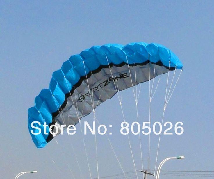 $ - Nice free shipping 2.5m dual Line Stunt power Kite soft kite Parafoil kite surf flying outdoor fun sports kiteboard - Buy it Now!
