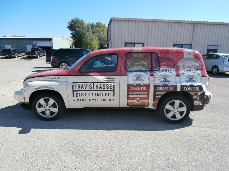 Apple Pie Vehicle Wrap Done By Monarch Media Designs In