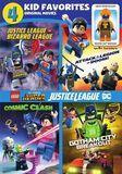 4 Kid Favorites: Lego DC Super Heroes [DVD]