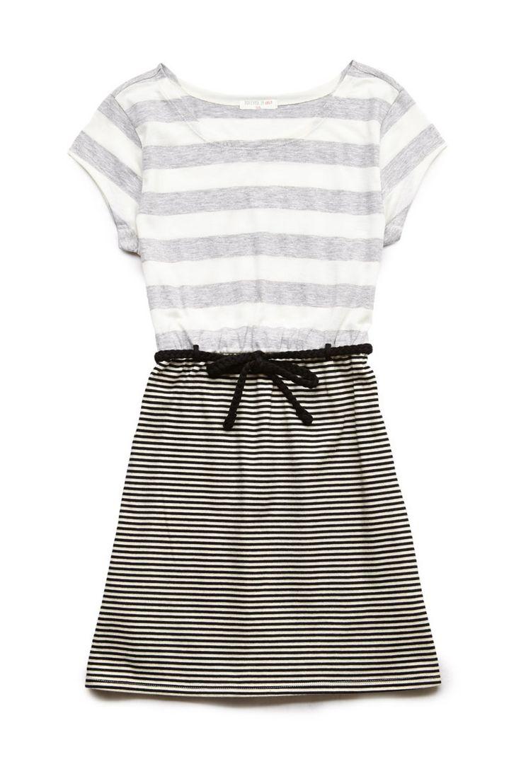 Striped Combo Dress (Kids) | FOREVER21 #F21Girls