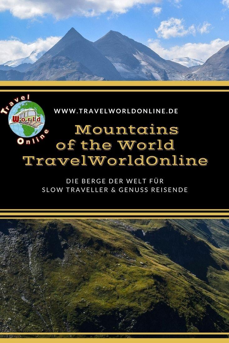 Die Berge der Welt für Slow Traveller und Genuss Reisende.