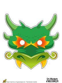 Masques pour Halloween pour enfants sur HugoLescargot.com