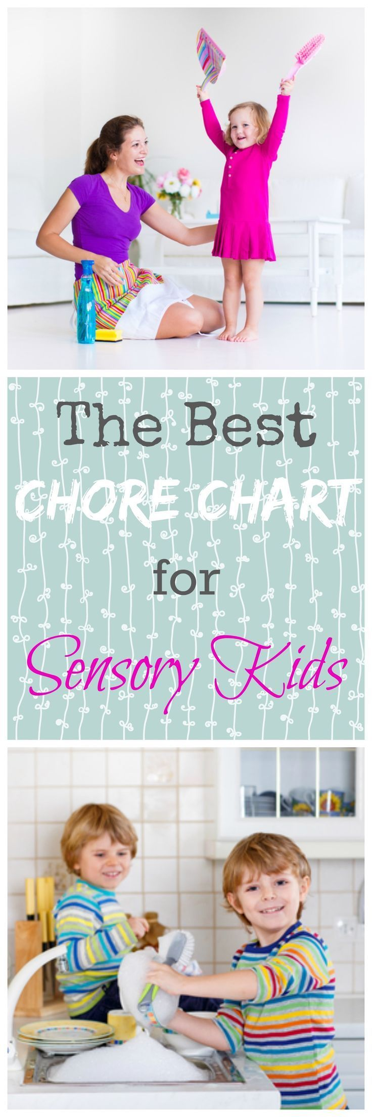 Colour therapy for hyperactivity - The Best Chore Chart For Sensory Sensitive Kids