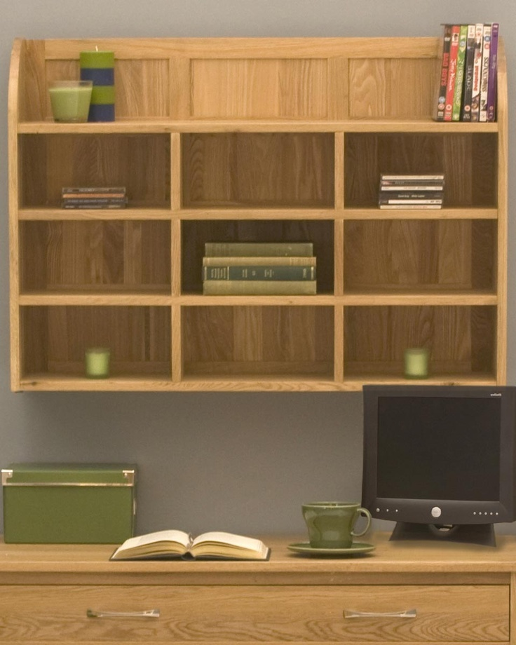 home office wall shelves. solid oak wallmounted shelving unit this attractive and versatile is home office wall shelves o