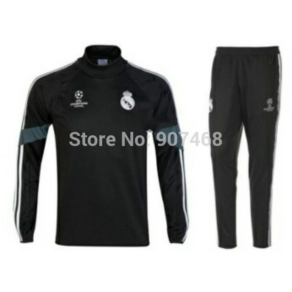 Chandal Real Madrid Sport suits Top A+++ Thai Survetement Football 2014/15 Spain Real-Madrid Champions League Training Tracksuit - http://www.aliexpress.com/item/Chandal-Real-Madrid-Sport-suits-Top-A-Thai-Survetement-Football-2014-15-Spain-Real-Madrid-Champions-League-Training-Tracksuit/32219874863.html