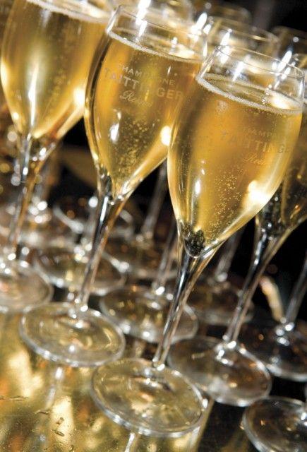 Taittinger Glasses #champagne #taittinger #brut