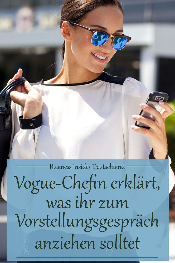 Vogue-Chefin Wintour erklärt, warum ihr nicht unbedingt Hemd, Krawatte oder Rock zum Vorstellungsgespräch tragen solltet