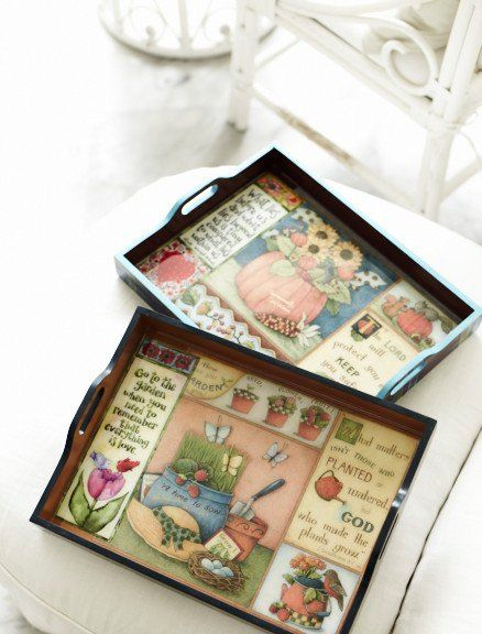 """""""Tray"""" by SIFA Decoupage"""