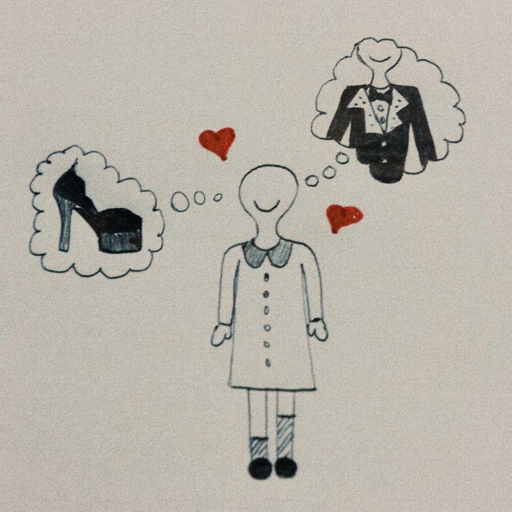 Artù loves dreaming! Artù è in vena di shopping: completo maschile o tacchi vertiginosi? Ed ha solo 7 anni! #fashion #style #shoes #tomboy #smoking #black #red #white #love #home