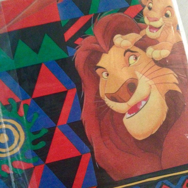 Vintage Lion King Gift Wrap Disney Package of 4 Sheets Pumba Simba    eBay