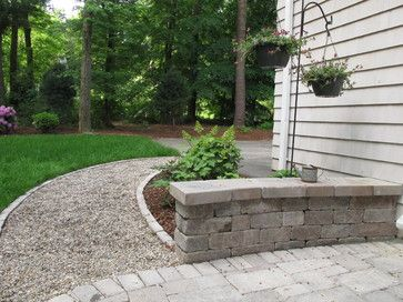 Pea Gravel Walkway Design, Pictures, Remodel, Decor and Ideas