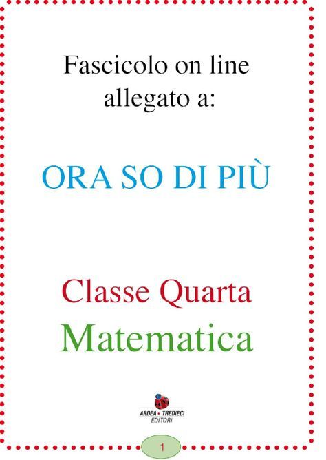 Orasodipiu classequarta by Roberta Burlando