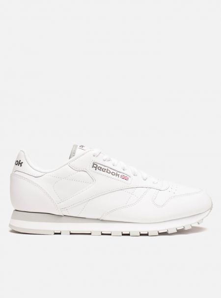 Кроссовки Reebok Classic Leather White/Grey