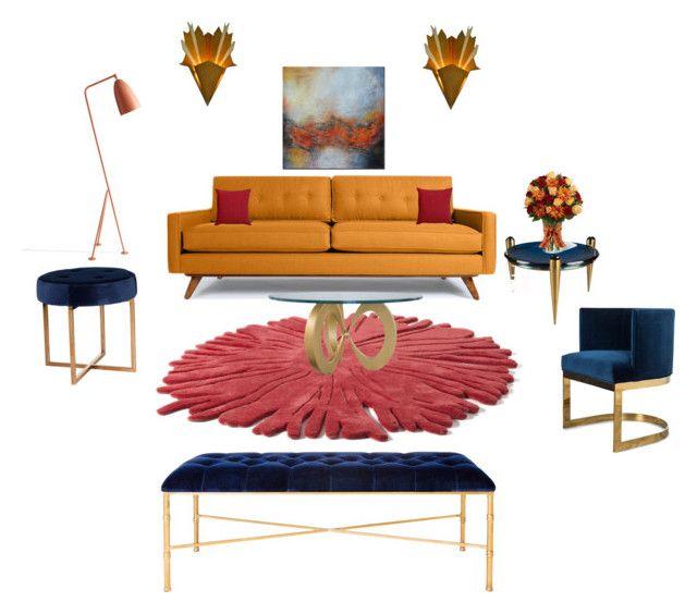 """House of Madalani"" by houseofmadalani on Polyvore featuring interior, interiors, interior design, home, home decor, interior decorating, Thrive and Nodus"