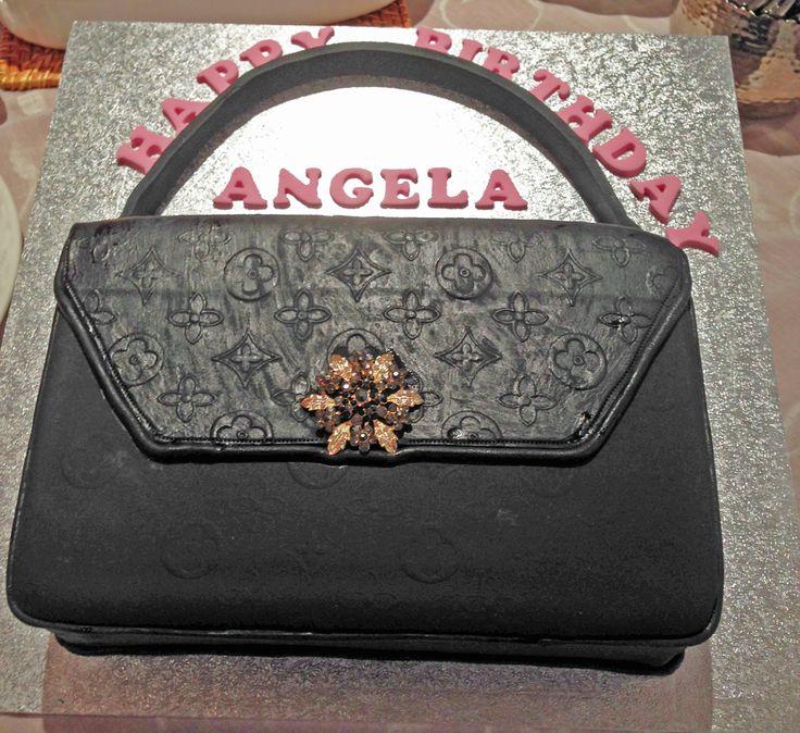 Cake Louis Vuitton Pinterest : 1000+ images about Louis Vuitton bag cake on Pinterest ...