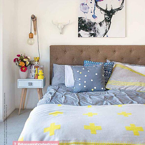 Insideout magazine  Inspiring bedroom Bedroom ideas  Megan Boseley