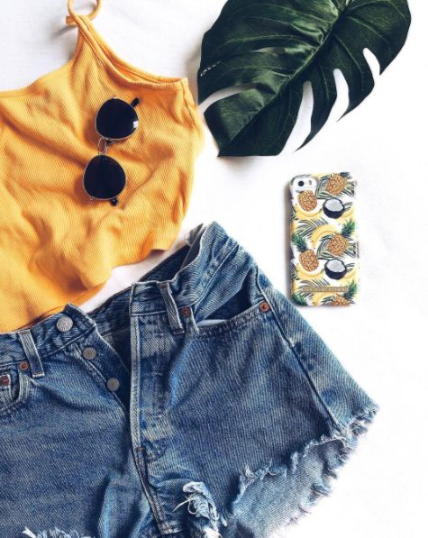 Banana Coconut by lovely @lenaegelaand - Fashion case phone cases iphone inspiration iDeal of Sweden #Tropcial #pineapple #palms #leaf #pina colada #yellow #fashion #inspo #iphone