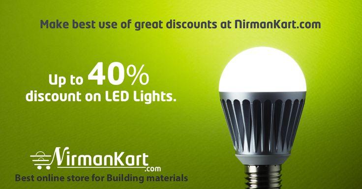 Shop LED, CFL lights online at special discounts